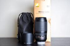 Nikon AF-S 70-300mm VR FX Telephoto Lens - US Model & MINT!