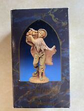 Fontanini Heirloom Nativity Seth by Roman 1987 with box and story Great Shape