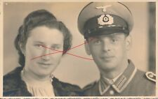 Nr 13218 Porträt  Foto PK  Deutscher Soldat   mit Frau Schwanenstadt