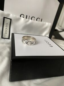 Gucci Ghost Skull Ring Hardly Worn
