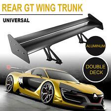 Universal GT Heckflügel  Heck Flügel Spoiler Heckspoiler Wing Schwarz Get