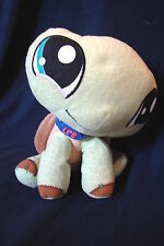 "Littlest Pet Shop 2007  Plush 9"" TURTLE with Collar"