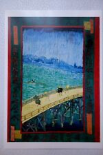 Carte Postale expo VAN GOGH et le Japon 1992 NEUF 1887 japonaiserie NEUF