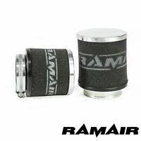 28mm Référence Col - RAMAIR Chrome Casquette Moto Pod Air Filtre