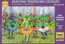 1:72 FIGUREN 8025 SAMURAI CAVALRY - ZVEZDA