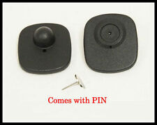 500 pcs Eas Anti Theft Rf Tags Security Tags Checkpoint ® Compatible with pins