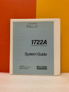 Fluke 716621 1722A 1752A Instrument Controller System Guide