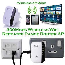 300Mbps Wireless Wifi Router AP Repeater Extender Booster Client Bridge EU Plug