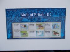 2011 Birds of Britain III Post & Go Presentation Pack SG FS16 No:P&G4 Superb U/M