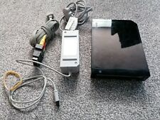 Nintendo Wii Console, Black, RVL-101 (EUR) pal. with leads