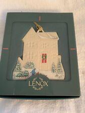 Vintage Lenox Victorian Home Collection Christmas Ornament Pembrooke Manor Euc