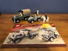 LEGO 7622 Indiana Jones Race for the Stolen Treasure Complete With Instructions