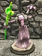 D&D Nolzur's Marvelous Miniatures Illithid (Mind Flayer) Mage B - Painted