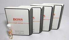 New In Card Hugo Boss In Motion White Edition EDT Vial Men 2ml 0.06oz Lot Of 4