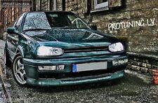 VW GOLF 3 MK3 III VR6 front spoiler chin lip addon valance trim splitter GTI GT