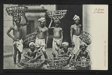 INDIA 393-A Group of Coolies