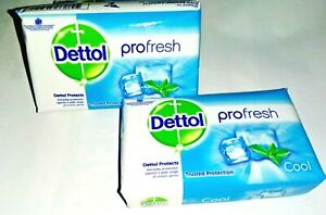 Dettol Cool Germ Protection Bathing Soap bar, 125gm  Free Shipping Profresh cool