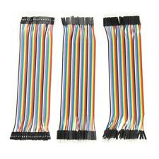 120pcs 20cm 2.54mm 1pin Jumper Wire DuPont Cable for Arduino P4PM