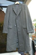 Vintage Weather Shield Men's 1950s Carchoal Gray Overcoat 40 42