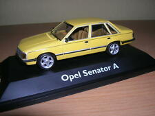 Schuco Opel Senator a Jamaican Yellow, 1:43 Limited Edition