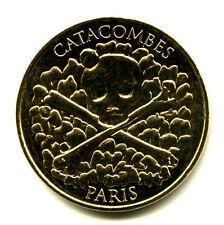 75014 Comptoir des Catacombes, Crâne et tibias, V° 20 ans,2016, Monnaie de Paris