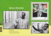 NELSON MANDELA = Souvenir Sheet Canada 2015 #2805 MNH VF