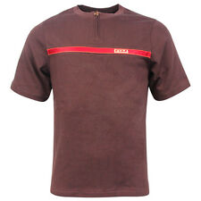 Nike Jordans Short Sleeved Tee T-Shirt Cotton Mens Burgundy 133223 247 UA154