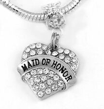 of Honor Charm only Maid of Honor Gift Maid of Honor Jewelry Maid of Honor Maid