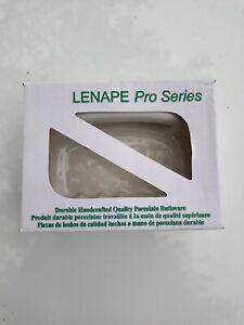 LENAPE PRO SERIES 1787 White Porcelain Soap Holder Tile-in Mount  Free Shipping