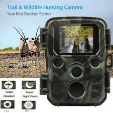 Mini Wildkamera 20MP Außenkamera FHD 1080P Nachtsicht Jagdkamera Wildtierkamera