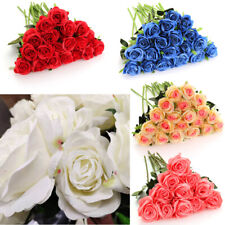 Möbel & Wohnen Blumen, Blüten & Girlanden Schaumrose Hochzeit Taufe Kommunion Hochzeitsdeko Gut Kunstrosen Weiss 24 St