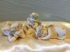 New listing Adorable Trio of Angel Cherub Children Figurines by Terry's Village