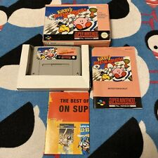 NINTENDO SNES -  KIRBY'S DREAM COURSE (BOXED)