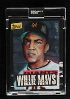 TOPPS PROJECT 2020 CARD Giants willie mays #101 Jacob Rochester