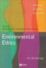 Environmental Ethics : An Anthology, Paperback by Light, Andrew (EDT); Rolsto...