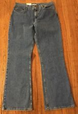 JONES SPORT Stretch Bootleg Jeans, Size 14 - New With Tags
