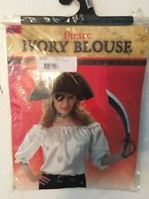 ADULT WOMEN PIRATE IVORY BLOUSE