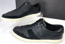 Clae GREGORY Leather Sport Shoe Skateboard Sneaker Casual ~ Men's 11.5 Black