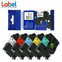 TZe231 431 531 631 731 Compatible for Brother P-Touch PT-D210 Label Tape 5PK