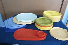 New ListingVintage Tupperware Misc. Colored Servalier Lids (12) & 7 Other Misc. Lids