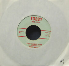 BOBBY LAWTON 45 (your jealous heart / i've lost everything) TOBBY #712