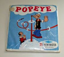 * MINT / SEALED * VINTAGE POPEYE 1962 VIEWMASTER REELS B516 RARE