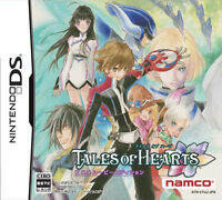 Used Nintendo DS Tales of Hearts Anime Movie Edition Japan Import Free Shipping、