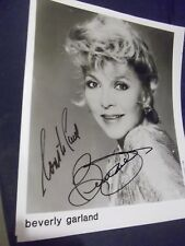 Swamp Women Airport 1975 The Alligator People BEVERLY GARLAND hand signed photo