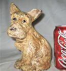 ANTIQUE CAST IRON WILTON USA CHARMING TERRIER PUPPY DOG ART STATUE HOME DOORSTOP
