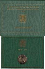 Vaticano 2010 Cartera Oficial Moneda 2 ? euros Conmemorativos Año sacerdotal