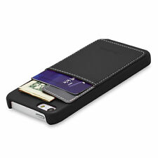 Leather Mobile Phone & Pda Fitted Case/skins for Apple with Card Pocket