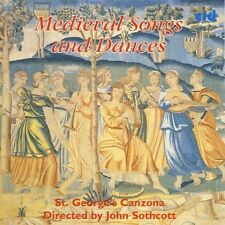 St. George's Canzona - Medieval Songs & Dances [New CD]