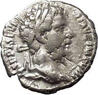 SEPTIMIUS SEVERUS 194AD Ancient Silver Roman Coin Security Cult  i53120