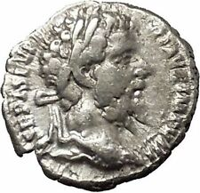 SEPTIMIUS SEVERUS 194AD Ancient Silver Roman Coin Security Cult  i53120